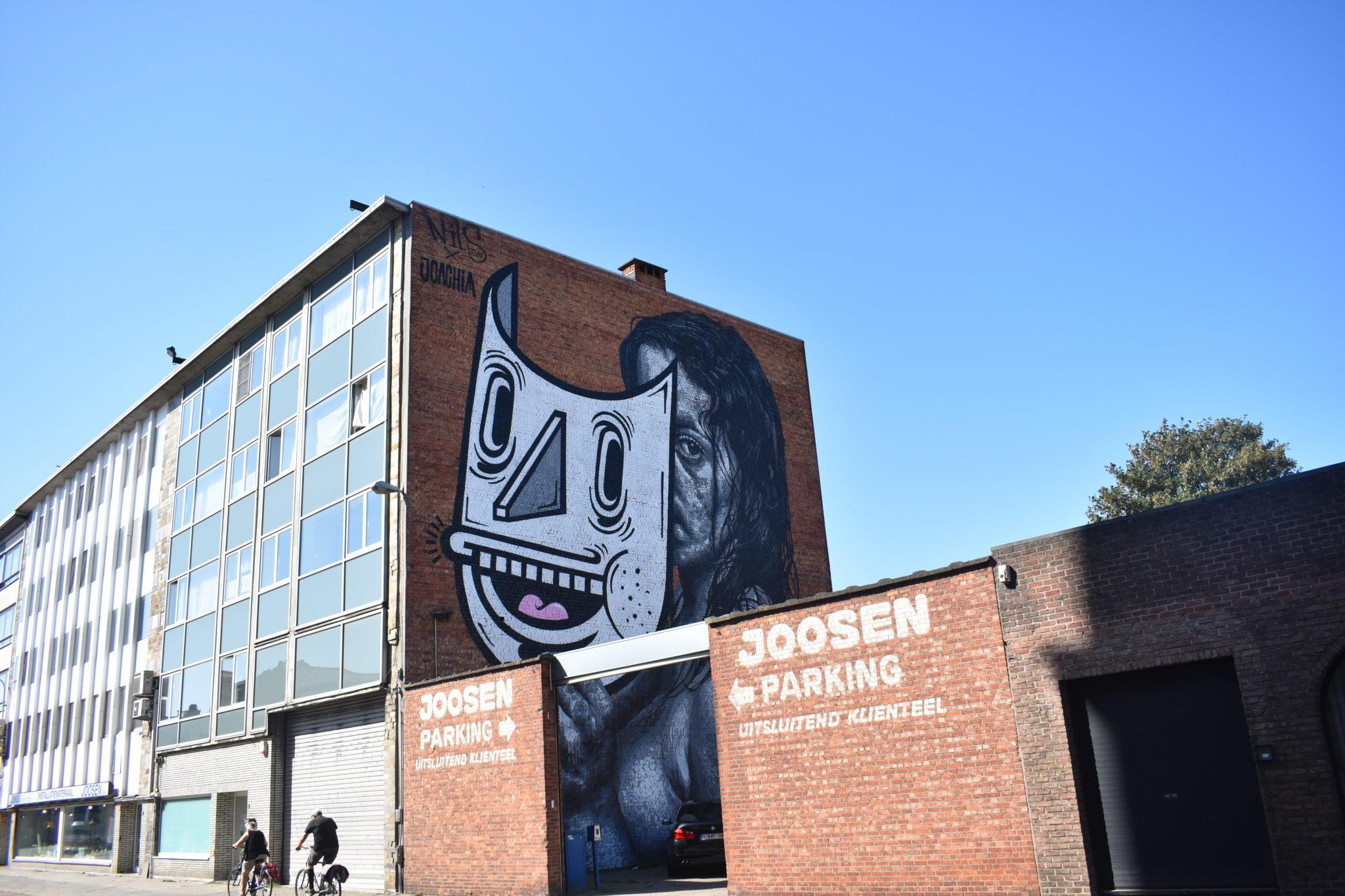Nils & Joachim street art antwerp
