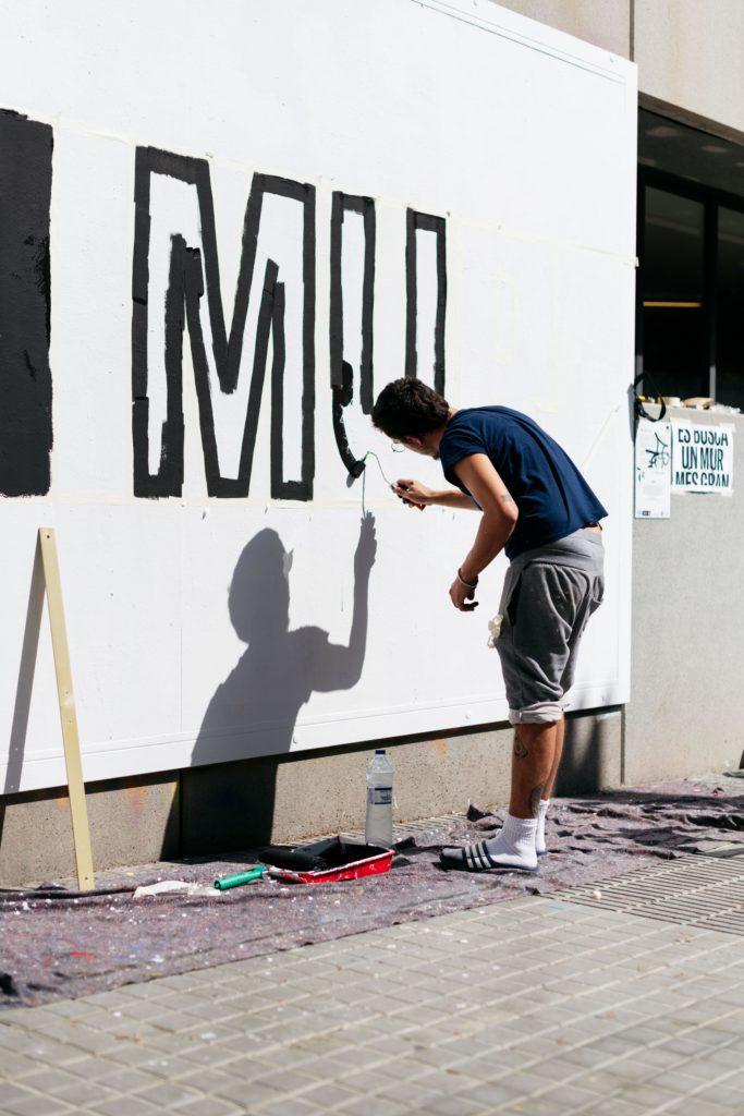 Octavi Serra Contorno Urbano Street art