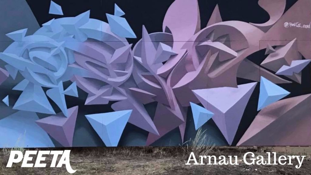 Peeta at Arnau Gallery Barcelona