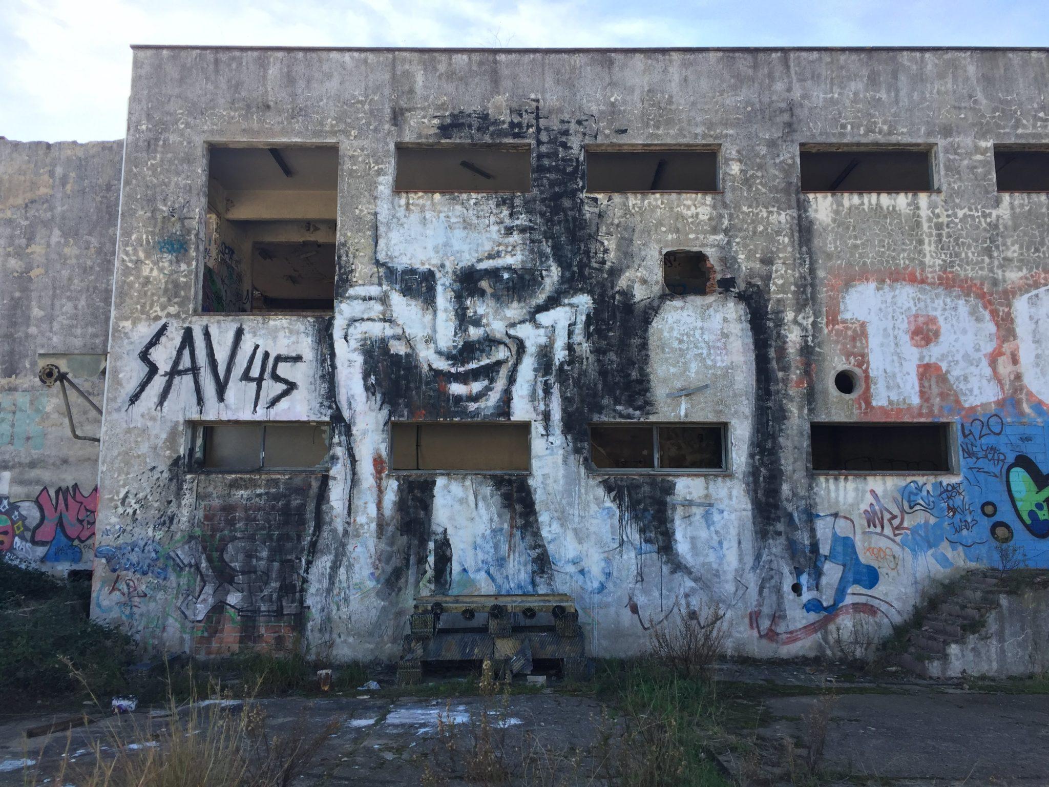 SAV45 street art