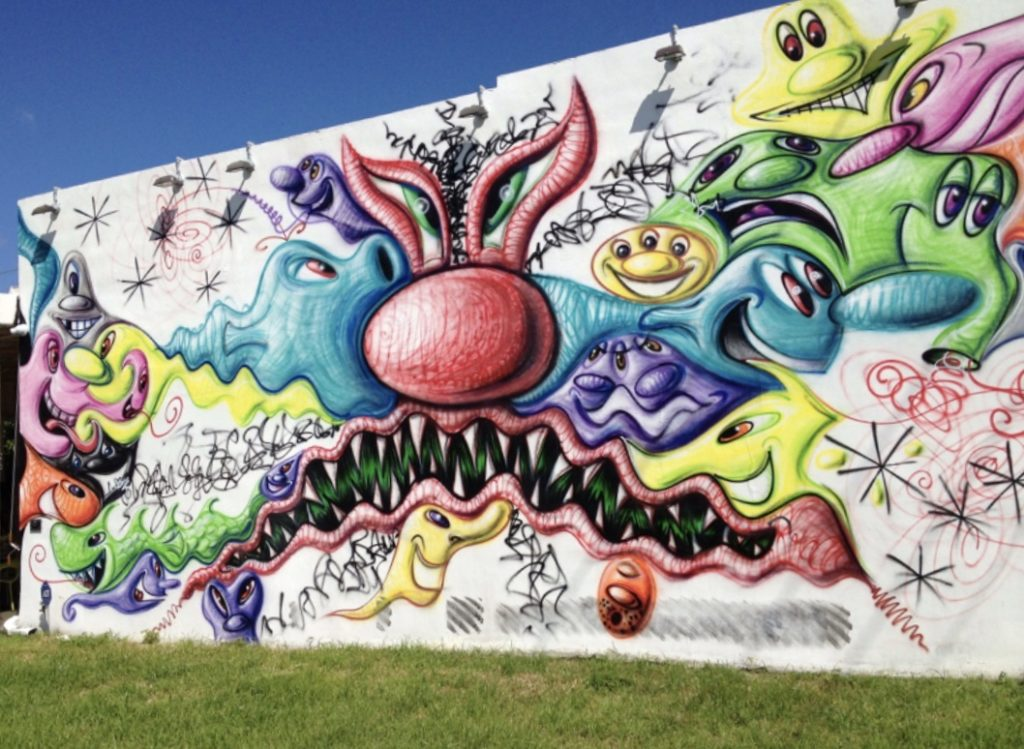 kenny scharf street art miami