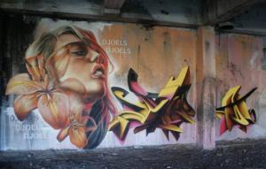 Djoels graffiti Belgium