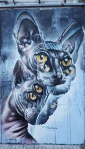 Djoels graffiti Amsterdam
