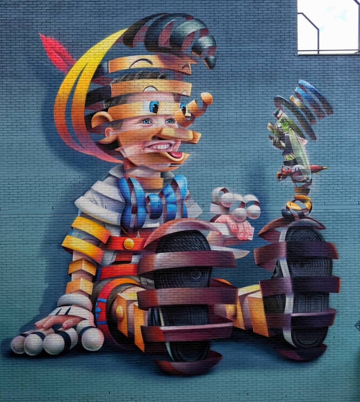rotterdam street art pow wow Supar A