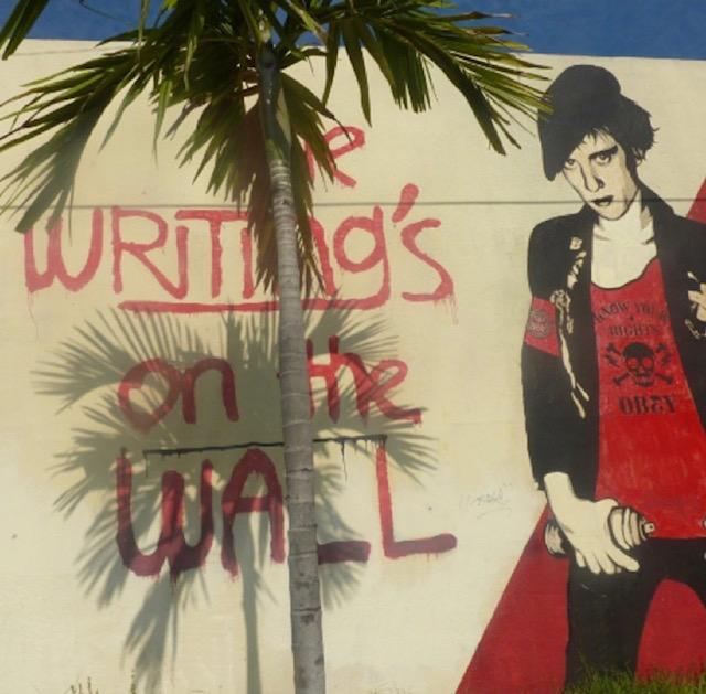 shepard fairey street art miami
