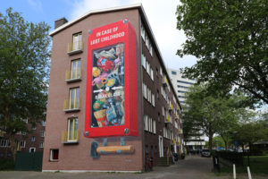 leon keer if walls could speak amsterdam street art festival