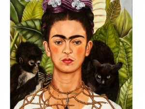 self portrait of Frida Kahlo