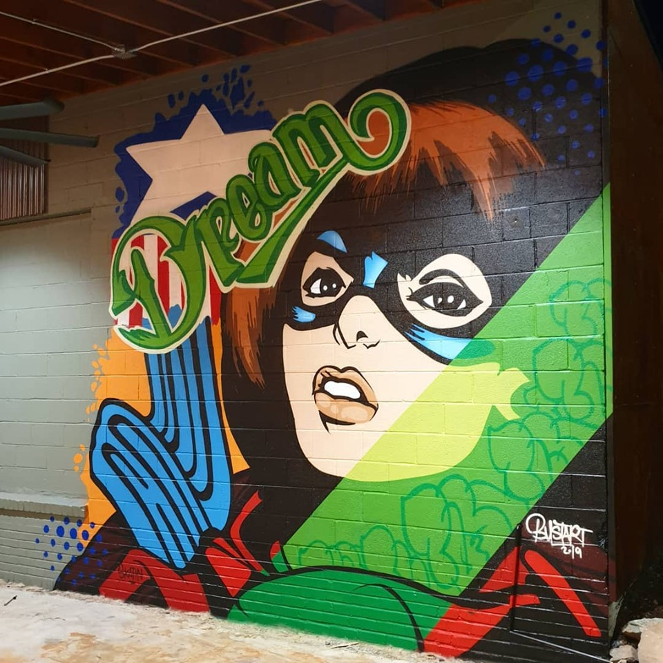 bustart street art