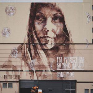 faith 47 moscow street art mural