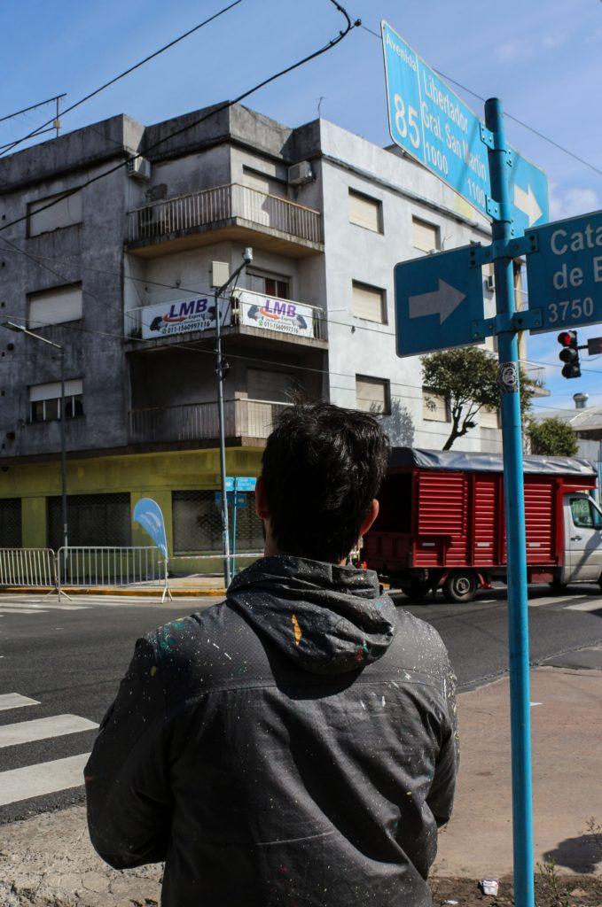 David Petroni Street art Buenos Aires