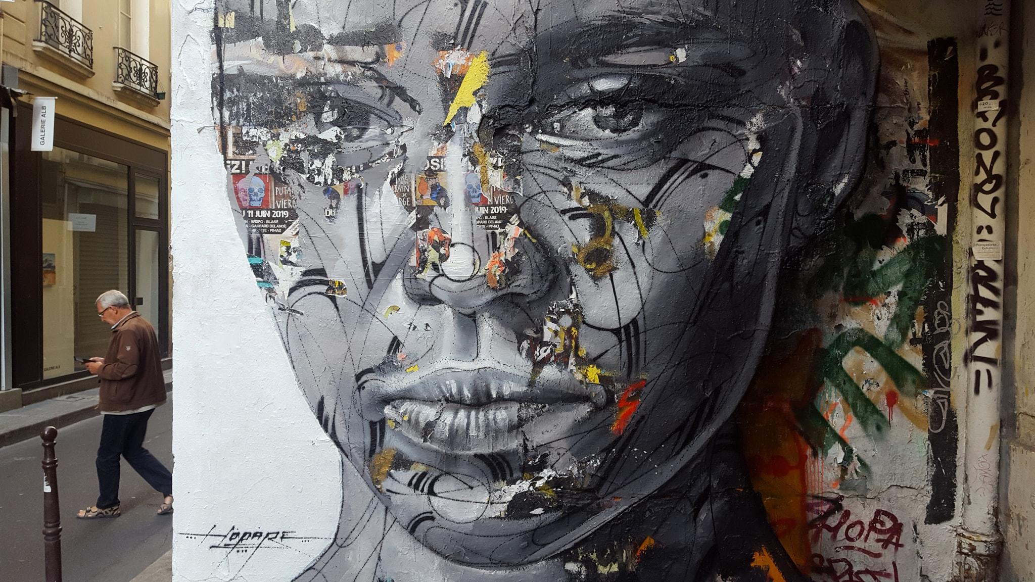 asa weekly news street art isabelle virot