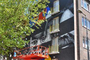 karel appel street art festival amsterdam