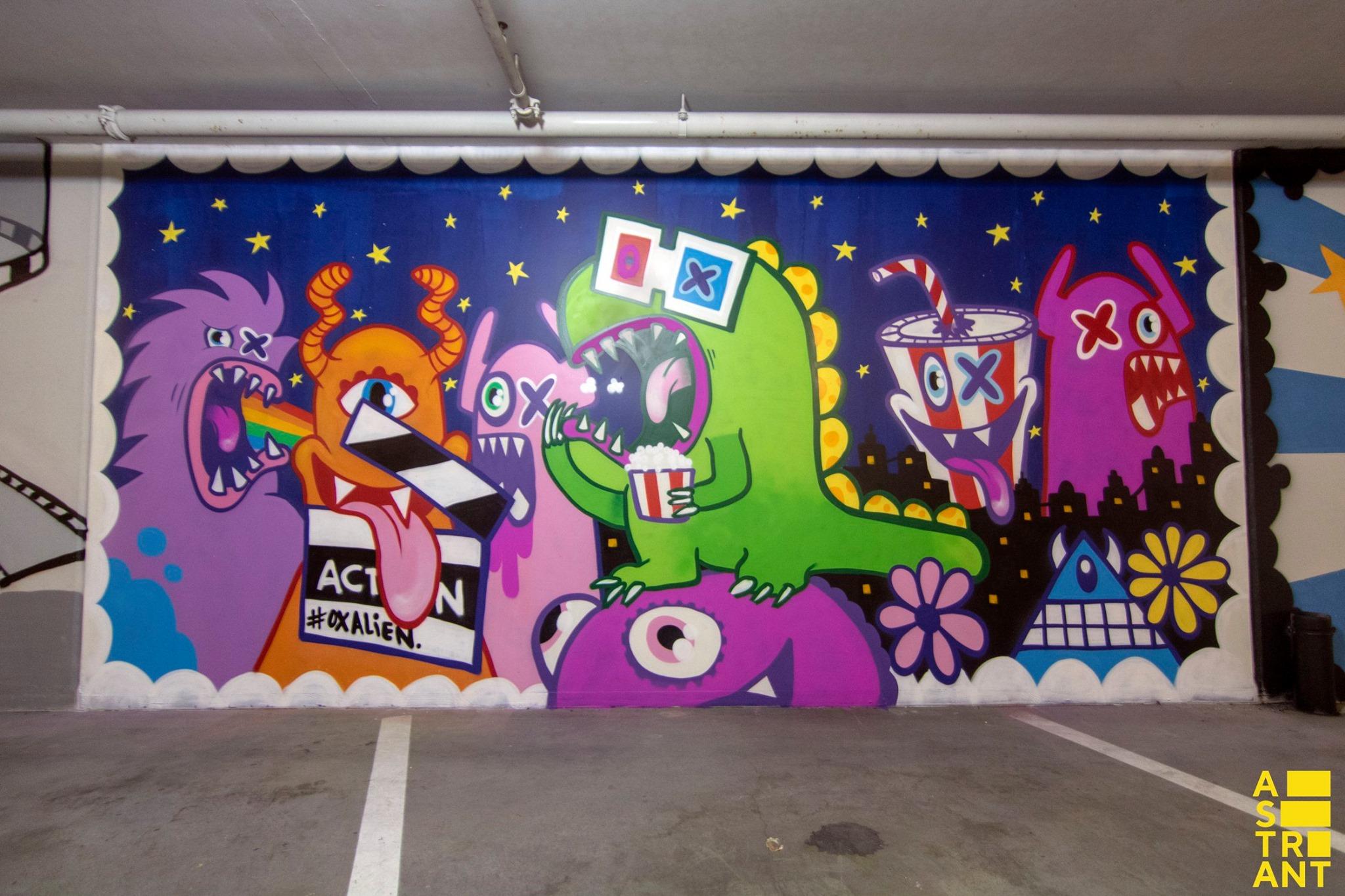 oxalien street art