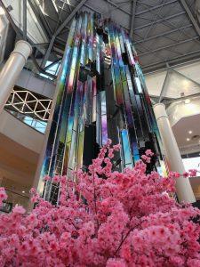 Pantone sculpture art moscow