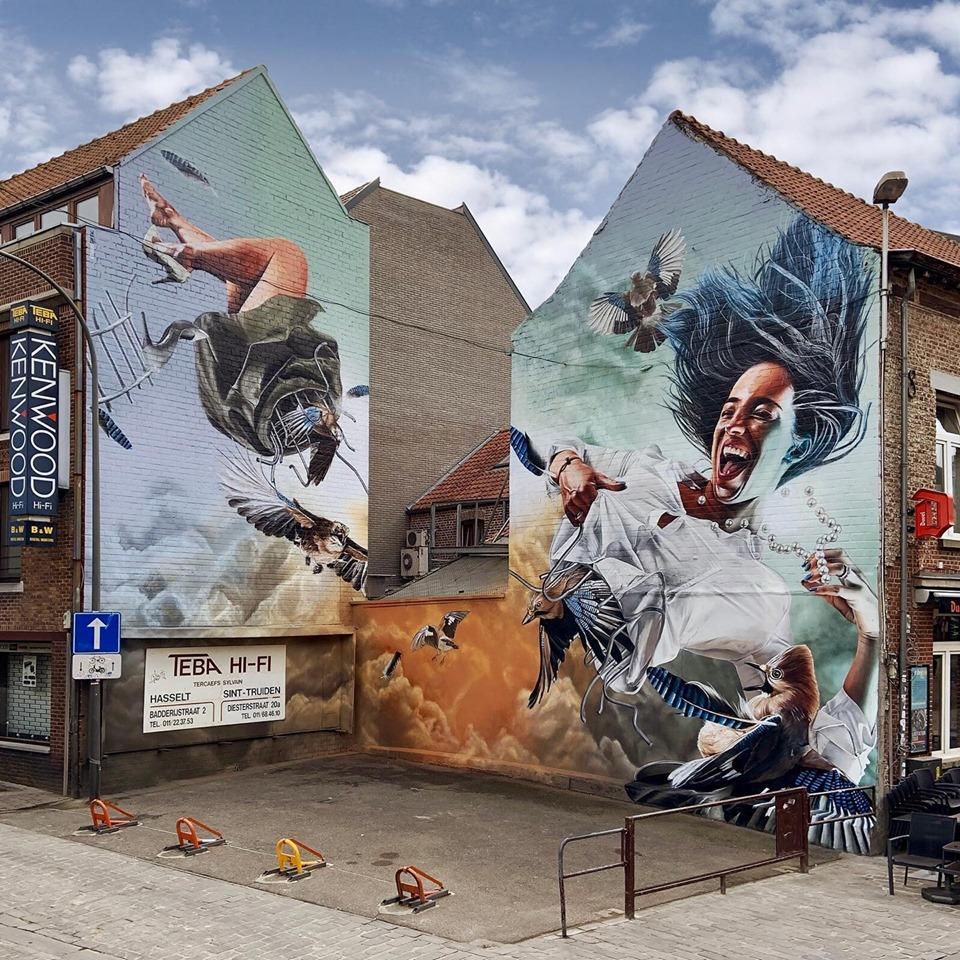 studio giftig hasselt street art belgium