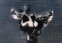 austin texax street art blek le rat